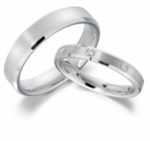 CHAMFERED WEDDING RINGS