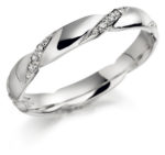 DIAMOND TWIST WEDDING RING