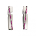 Pave Band Earrings