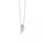 Silver/Rose Gold Pace Necklace