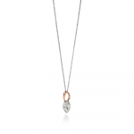Rose Gold Marquise Pendant