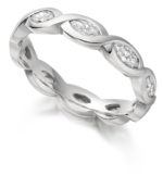CELTIC MARQUISE DIAMOND BAND