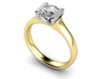 BELLE DIAMOND SOLITAIRE RING