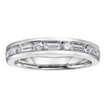 DECO DIAMOND ETERNITY RING
